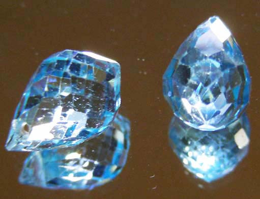 FACETED SWISS TOPAZ PARCEL 05.78  CTS 90242