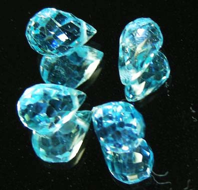 FACETED SWISS TOPAZ PARCEL  11.28 CTS 90243