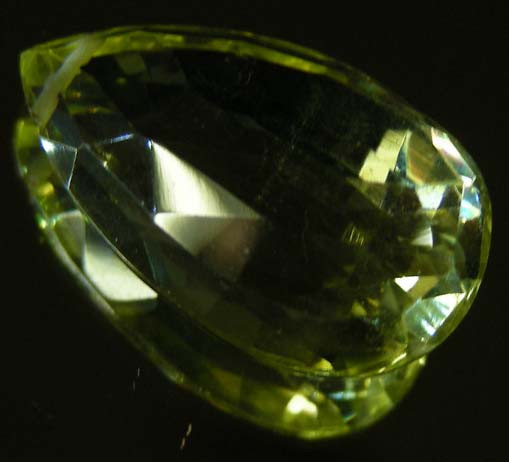 FACETED LEMON TOPAZ  BEAD 14.08 CTS 90338