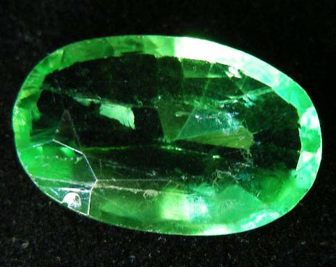 QUALITY FACETED FLUORITE STONE  13.72 CTS  90247