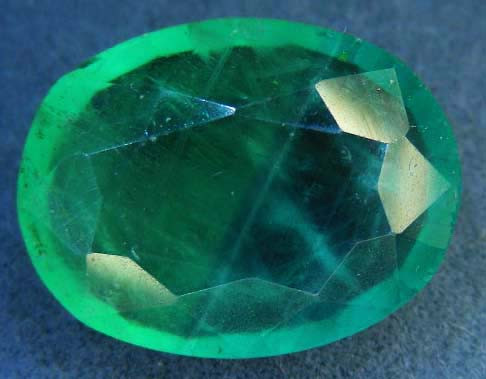 QUALITY FACETED FLUORITE STONE  11.56 CTS  90250