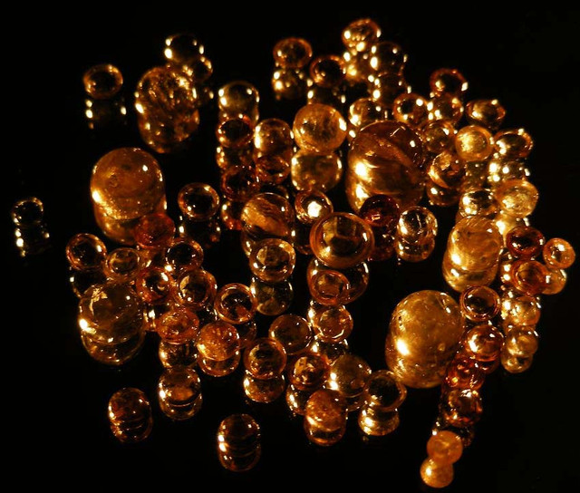 BEAUTIFUL MOLTEN GOLD TOPAZ PARCEL  21.50 CTS  90127