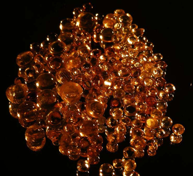 BEAUTIFUL MOLTEN GOLD TOPAZ PARCEL 50.50 CTS  90132