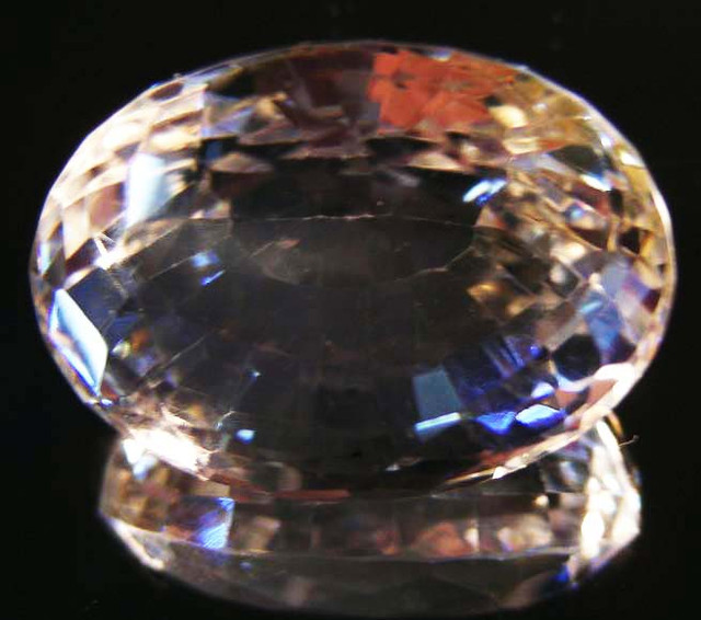 BEAUTIFUL ROYAL INDIAN SILKY TOPAZ  39.28 CTS  90152