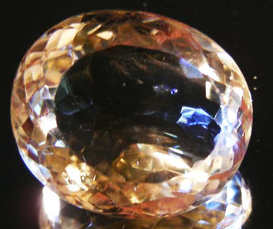 BEAUTIFUL ROYAL INDIAN SILKY TOPAZ 44.70  CTS  90153