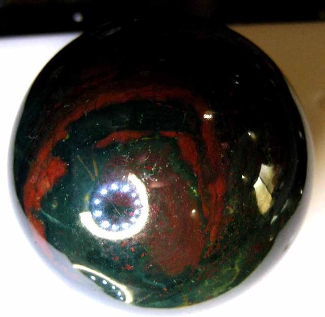 PYTHON(BLOOD STONE) BALL  1325  CTS  90469