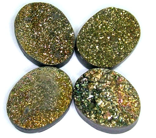 NATURAL DRUSY STONE (4PC SET) 35 CTS PG-722