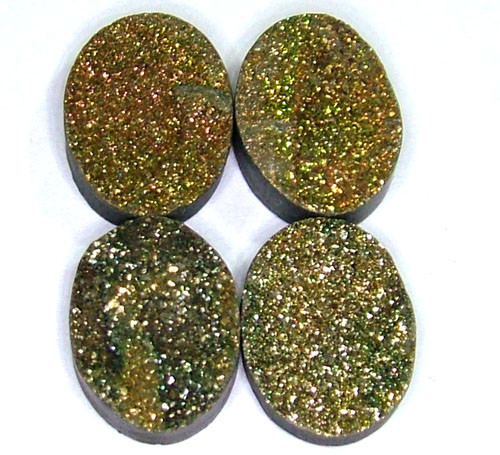 NATURAL DRUSY STONE (4PC SET) 33 CTS PG-723
