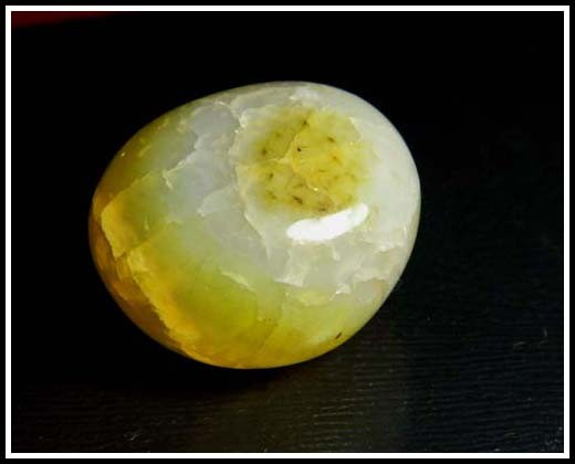 Natural Agate Bead Drilled Stone A593