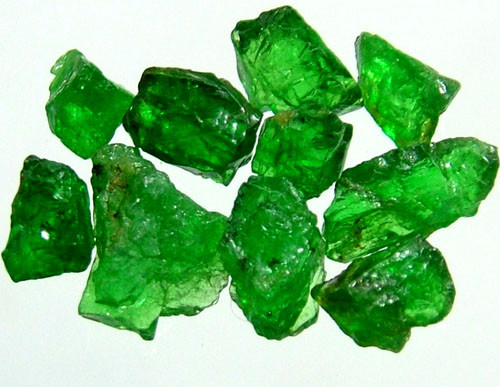 TSAVORITE ROUGH CRYSTAL GREEN 10.35 CTS RG-1248
