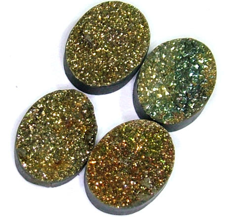 NATURAL DRUSY STONE (4PC SET) 31 CTS PG-743