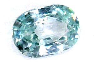 BLUE ZIRCON FACETED STONE 1.05 CTS  PG-1241