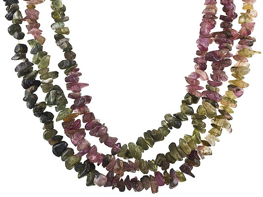 36 INCH LENGTH FREE FROM CUT POLISHED TOURMALINE, MULTI COLOR NATURAL NON TREATED GEMS..