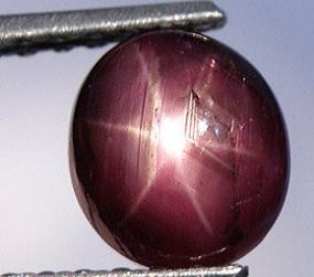 LARGE 5.70 CARAT WEIGHT STAR RUBY