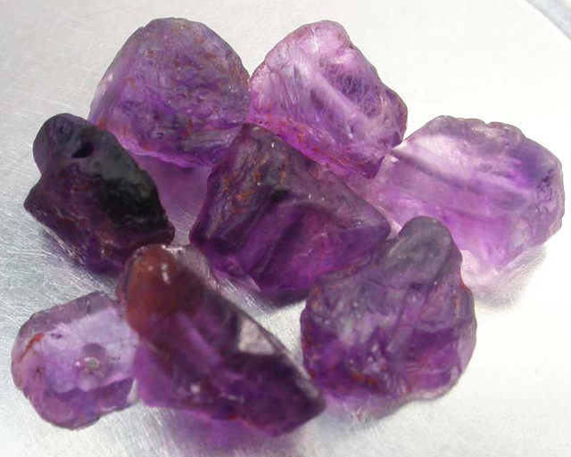 NATURAL FLUORITE BEAD PARCEL  -DRILLED 117.15 CTS [MX9735]