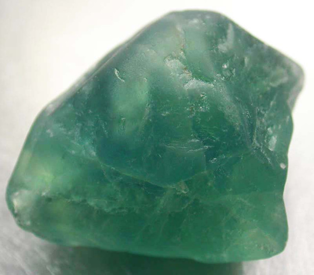 NATURAL LARGE  FLUORITE BEAD  -DRILLED 112.10 CTS [MX9779]