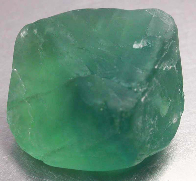 NATURAL LARGE  FLUORITE BEAD  -DRILLED 131.40 CTS [MX9784]