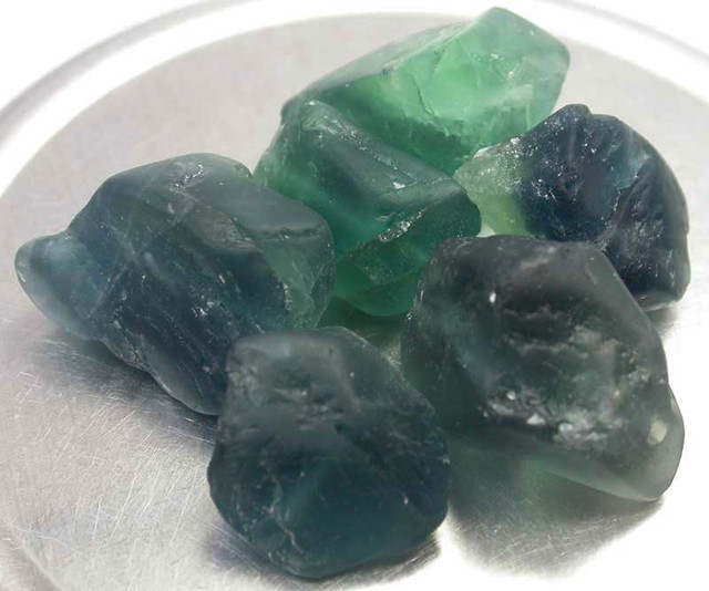 NATURAL FLUORITE BEADS PARCEL - DRILLED 232.30 CTS [MX9792]