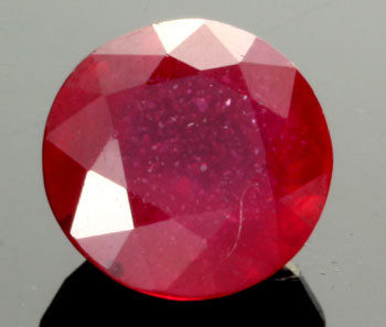 AFRICAN RUBY STONE BLOOD RED  5.00  CTS [S6006 ]