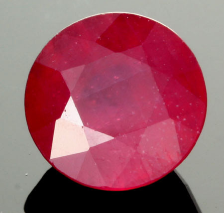 AFRICAN RUBY STONE BLOOD RED  5.15 CTS [S6008]