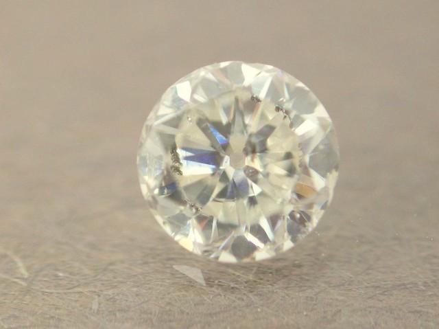 NATURAL WHITE DIAMOND-6MMSIZE--O.85CTWSIZE-1PCS,NR