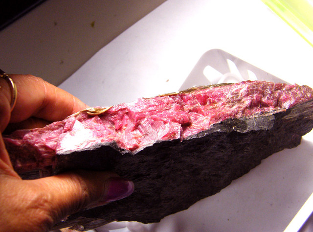 RHODHONITE COLLECTOR INVESTMENT SPECIMEN 1680G/8400CTS