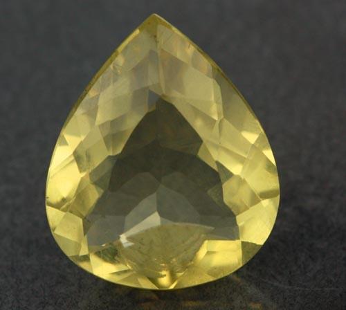 VVS  LARGE -GOLD/YELLOW QUARTZ STUNNING 11.88 CTS [S6066 ]