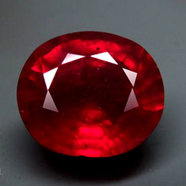 6.87 Carat VS Pigeon Blood Ruby - Superb