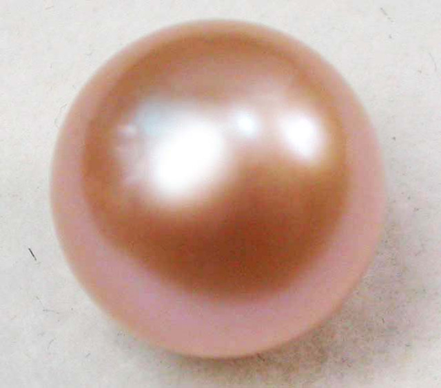 AAA GRADE ROUND PEARL  HIGH LUSTER-10 MM [PF2200]