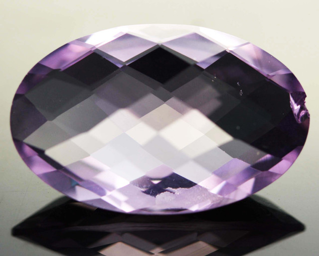 18.55 CTS VVS  LARGE AMETHYST FROM BRAZIL   [S6104]
