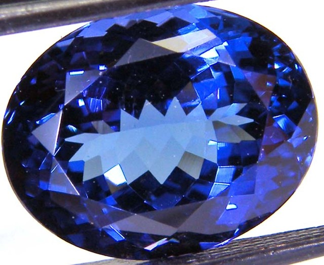VVS TANZANITE FACETED COLLECTOR PC  8.30 CTS JM PG-RK-19