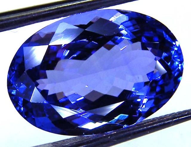 VVS1TANZANITE FACETED COLLECTOR PC  6.50 CTS JM PG7-18