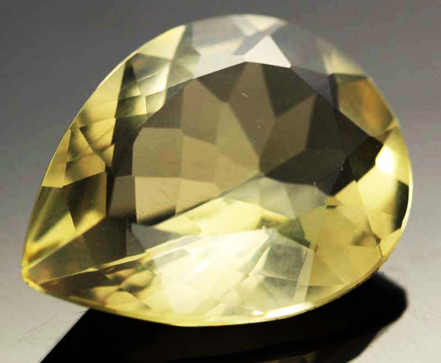 8.06 CTS VVS  LARGE -GOLD/YELLOW QUARTZ   [S6120]