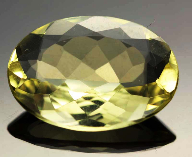 10.97 CTS VVS  LARGE -GOLD/YELLOW QUARTZ   [S6124]