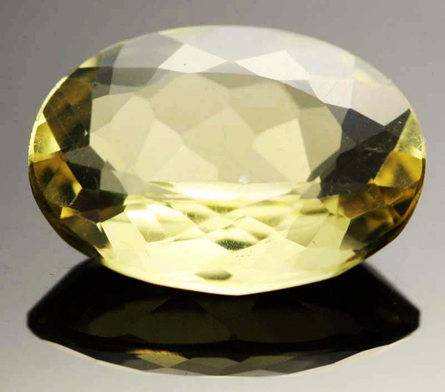 12.87 CTS VVS  LARGE -GOLD/YELLOW QUARTZ   [S6136]