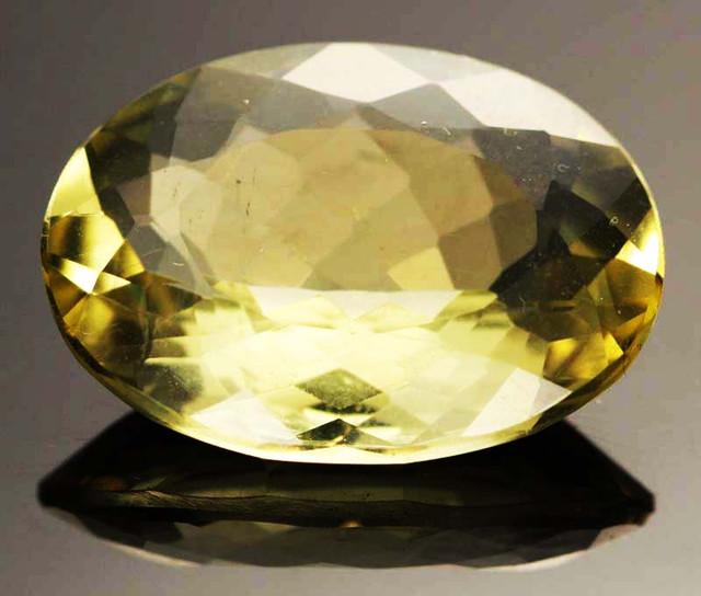 15.60 CTS VVS  LARGE -GOLD/YELLOW QUARTZ   [S6137]