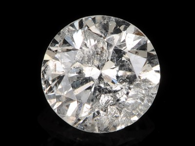 NAT-SOLITIARE WHITE DIAMOND-6.3MM-1.05CTWSIZE,NR