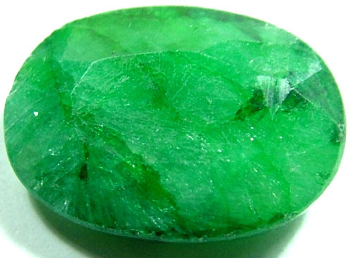 AVENTURINE FACETED EMERALD GREEN 11.50 CTS PG-693