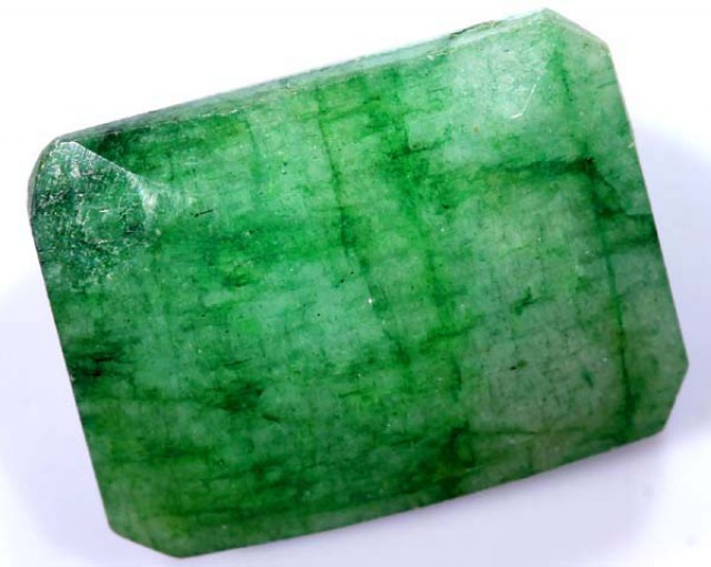 AVENTURINE FACETED EMERALD GREEN 11.50 CTS PG-688
