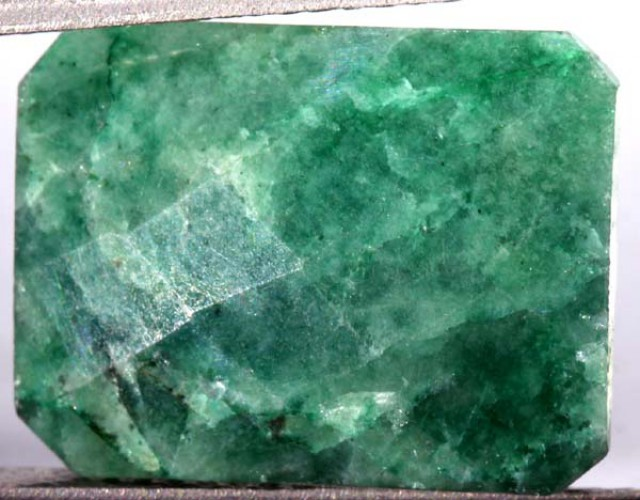 AVENTURINE FACETED EMERALD GREEN 9.50 CTS PG-686