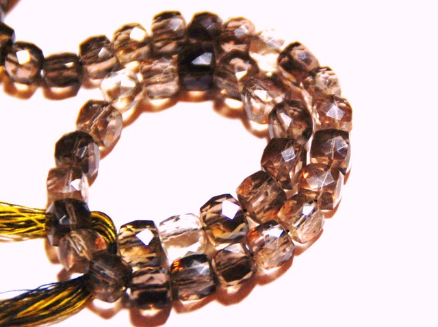 *NEW ARRIVAL* BIO-LEMON Quartz Box checker beads 9