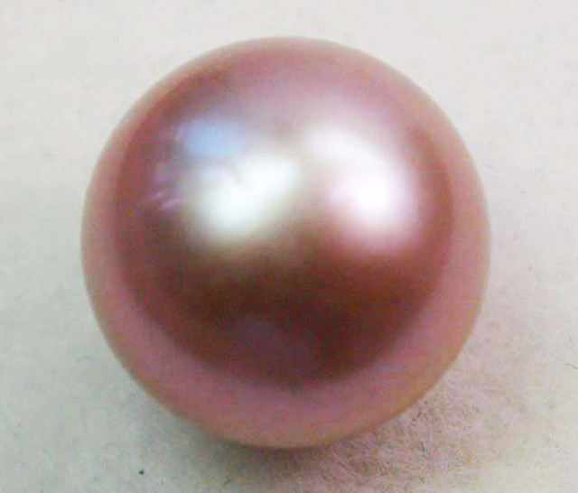 AAA GRADE ROUND PEARL  HIGH LUSTER- 9-10  MM [PF2225]