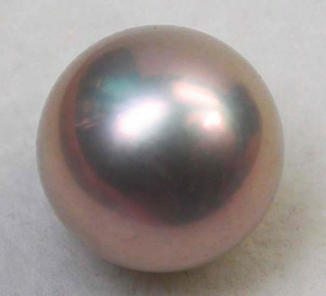 AAA GRADE ROUND PEARL  HIGH LUSTER- 9-10  MM [PF2228]