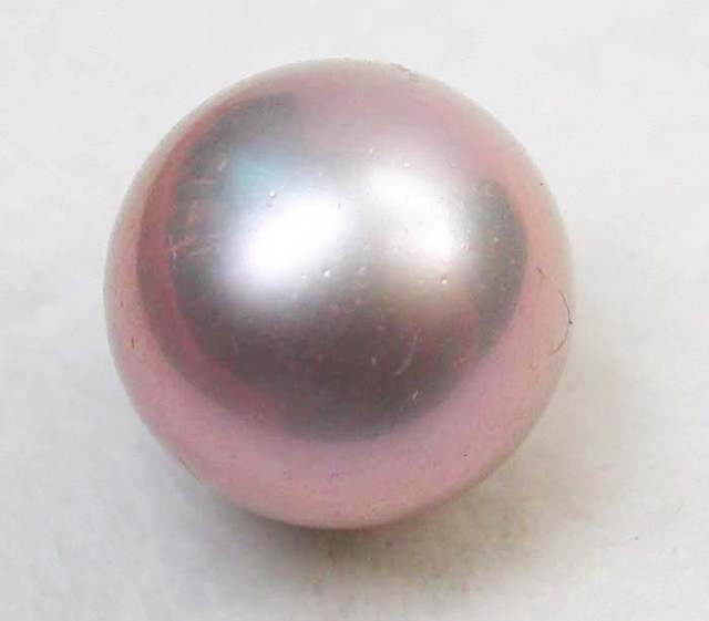 AAA GRADE ROUND PEARL  HIGH LUSTER- 9-10  MM [PF2237]