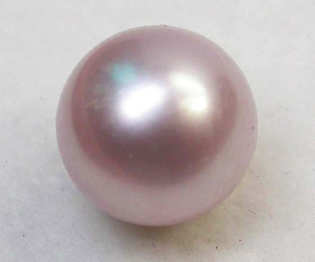 AAA GRADE ROUND PEARL  HIGH LUSTER- 9-10  MM [PF2239]