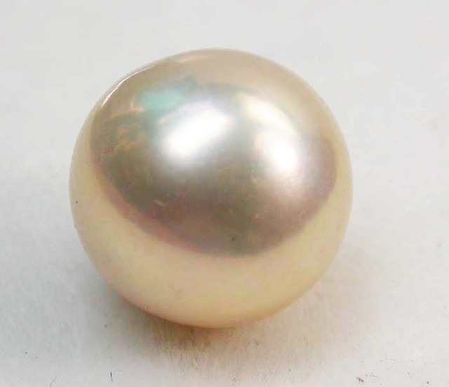 AAA GRADE ROUND PEARL  HIGH LUSTER- 10-11  MM [PF2248]