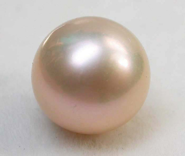 AAA GRADE ROUND PEARL  HIGH LUSTER- 9-10  MM [PF2249]