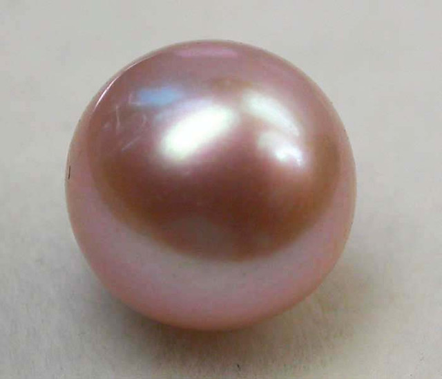 AAA GRADE ROUND PEARL  HIGH LUSTER- 9-10  MM [PF2250]