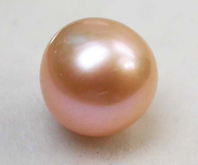 AAA GRADE ROUND PEARL  HIGH LUSTER- 9-10  MM [PF2251]