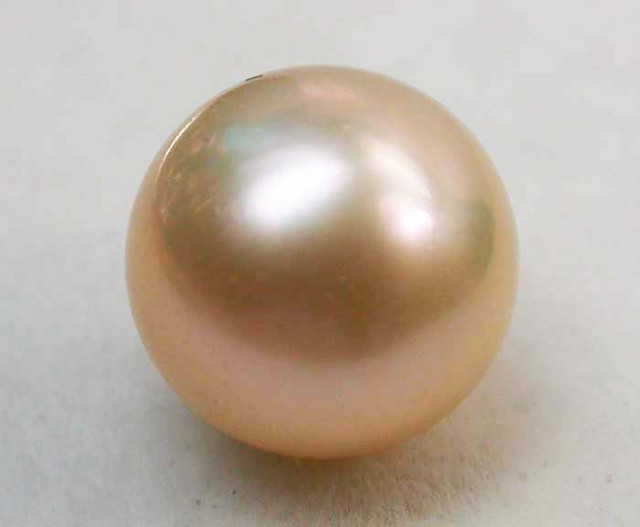 AAA GRADE ROUND PEARL  HIGH LUSTER- 10-11  MM [PF2256]